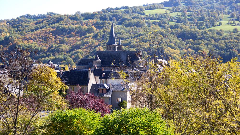 Saint-Côme-d'Olt小村