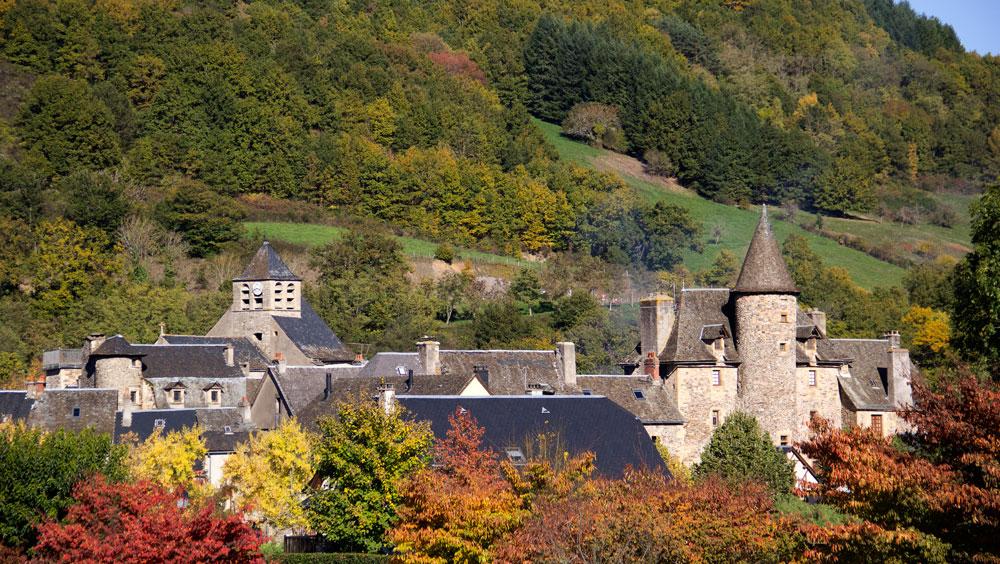 Saint-Eulalie-d'Olt村景